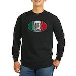 Mexico Colors Long Sleeve Dark T-Shirt