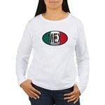 Mexico Colors Women's Long Sleeve T-Shirt
