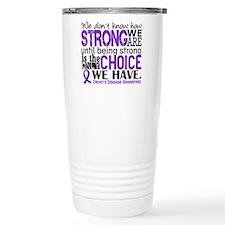 Crohn's HowStrongWeAre Travel Mug