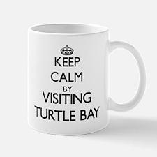 Keep calm by visiting Turtle Bay Hawaii Mugs