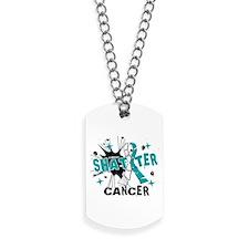 Shatter Cervical Cancer Dog Tags