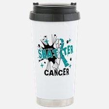 Shatter Cervical Cancer Travel Mug