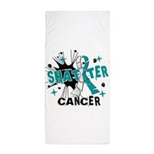 Shatter Cervical Cancer Beach Towel
