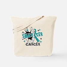 Shatter Cervical Cancer Tote Bag