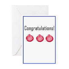 congratulationscondom Greeting Cards
