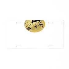 curling,curler Aluminum License Plate