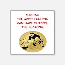 curling,curler Sticker