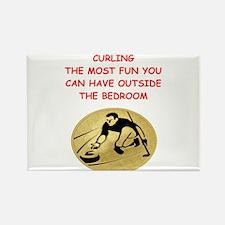 curling,curler Magnets
