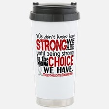 Mesothelioma HowStrongW Stainless Steel Travel Mug