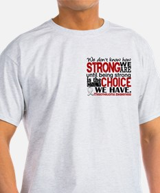 Mesothelioma HowStrongWeAre T-Shirt