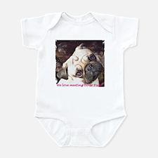Pug Friends Infant Bodysuit