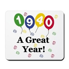 1940 A Great Year Mousepad