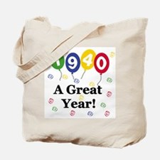 1940 A Great Year Tote Bag