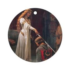 The Accolade Round Ornament