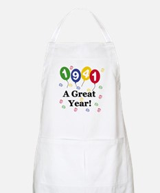 1941 A Great Year BBQ Apron