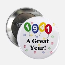 """1941 A Great Year 2.25"""" Button (10 pack)"""