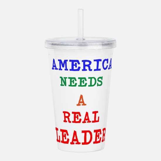 Cute Antiobama Acrylic Double-wall Tumbler