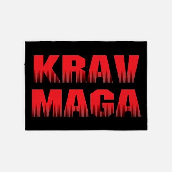 Krav Maga 5'x7'area Rug
