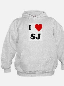 I Love SJ Hoodie