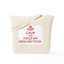 Flat broke Tote Bag