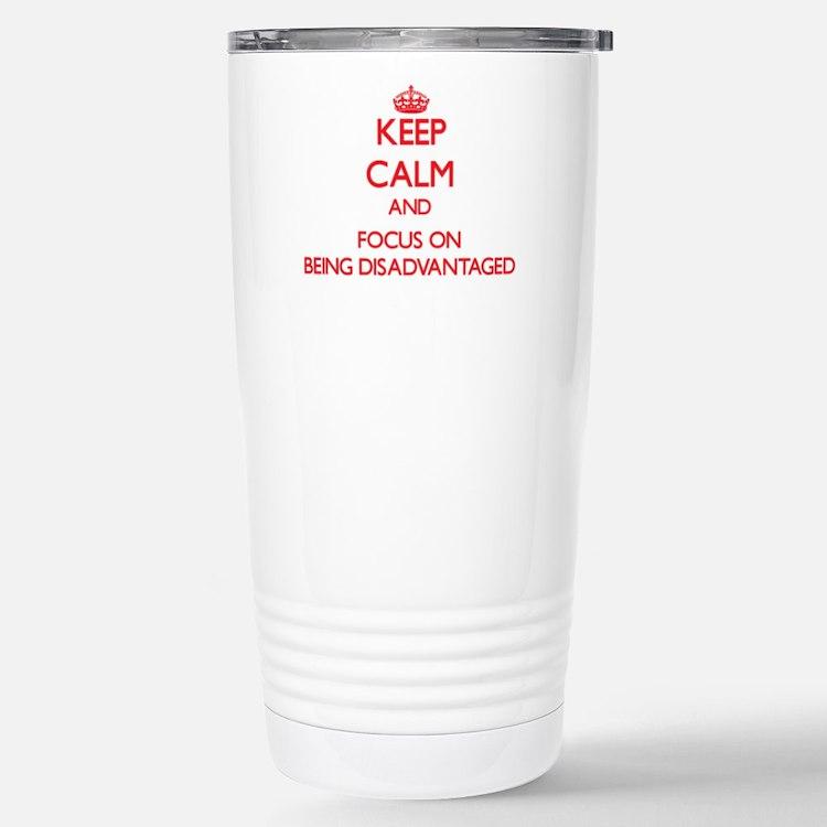 Cute Disadvantaged Travel Mug