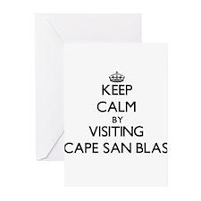 Keep calm by visiting Cape San Blas Florida Greeti