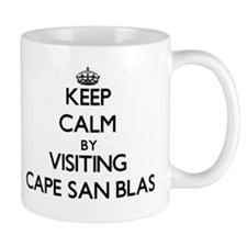 Keep calm by visiting Cape San Blas Florida Mugs