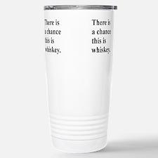 Cute Whiskey Travel Mug