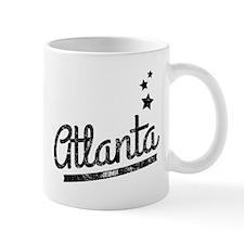 Distressed Retro Atlanta Logo Mugs