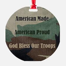 American Military Ornament