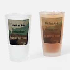 American Military Drinking Glass