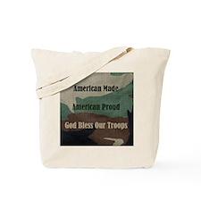 American Military Tote Bag