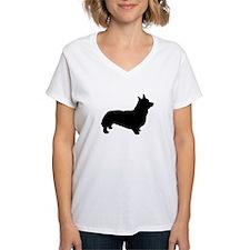 corgi black 1 T-Shirt