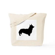 corgi black 1C Tote Bag