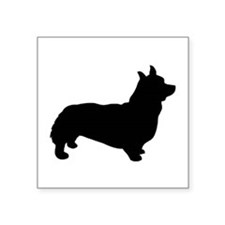 corgi black 1C Sticker