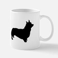 corgi black 2 Mugs