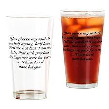 Jane Austen Persuasion Drinking Glass