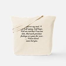Jane Austen Persuasion Tote Bag