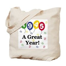 1945 A Great Year Tote Bag