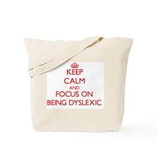 Unique Dyslexie Tote Bag