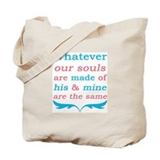 Wuthering Heights Our Souls Tote Bag