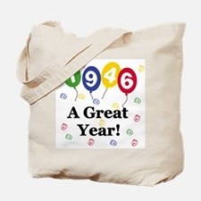 1946 A Great Year Tote Bag