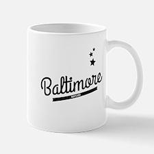 Retro Baltimore Logo Mugs