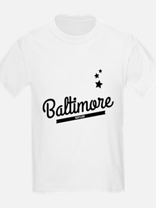 Retro Baltimore Logo T-Shirt