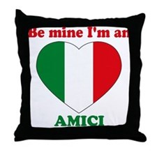 Amici, Valentine's Day Throw Pillow