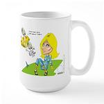 Eyes To Tha Skies Large Mug Mugs