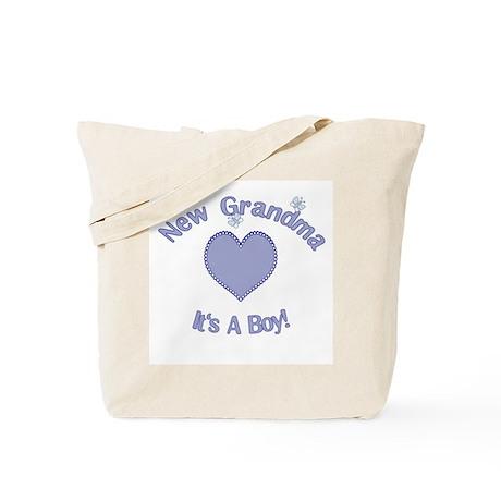New Grandma It's a Boy Tote Bag