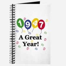 1947 A Great Year Journal