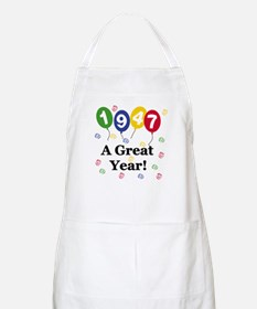 1947 A Great Year BBQ Apron