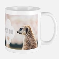 I Miss You meerkat Mugs